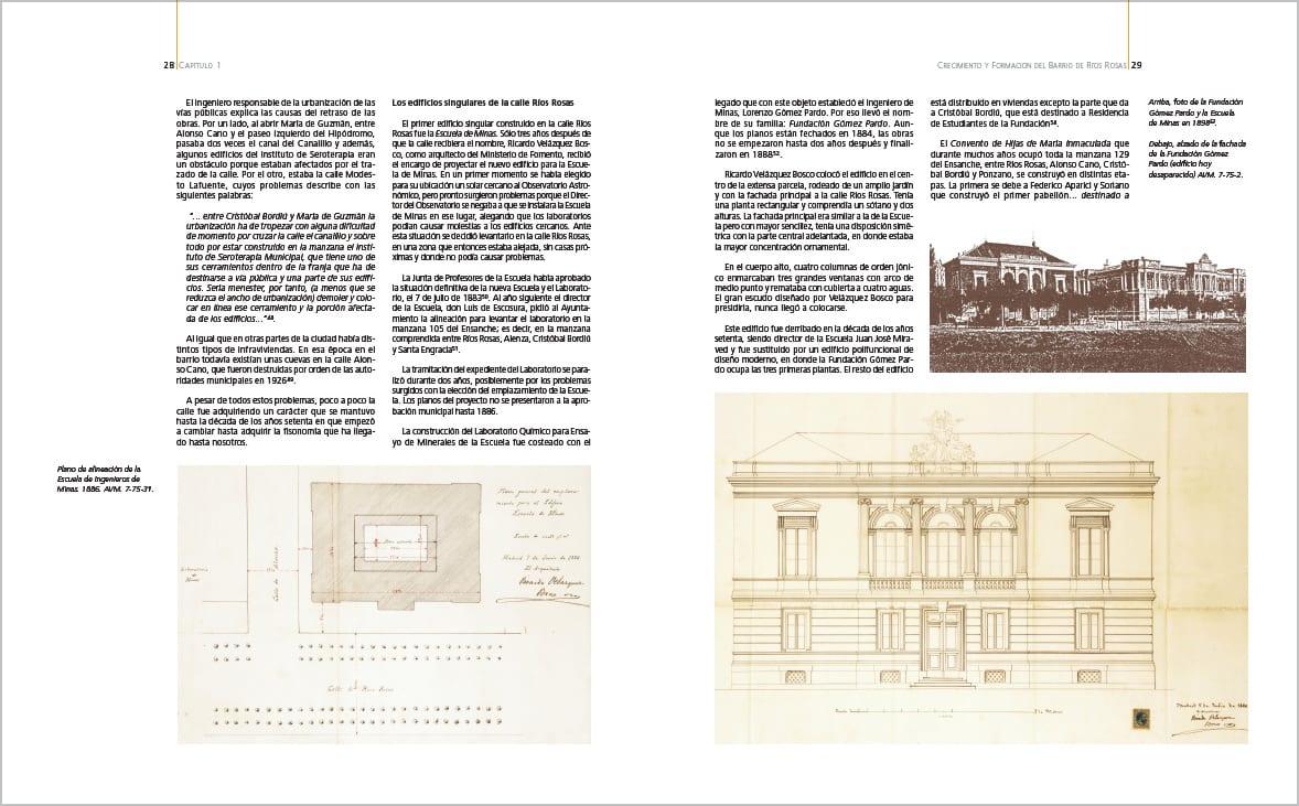 Historia de un edificio.