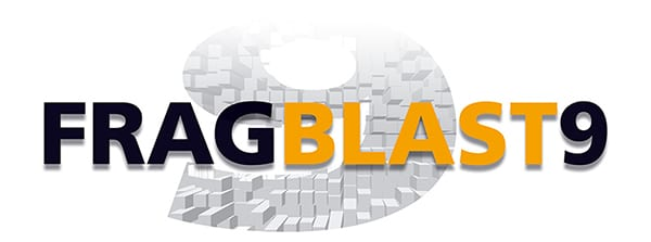 Diseño de logotipo FRAGBLAST 9