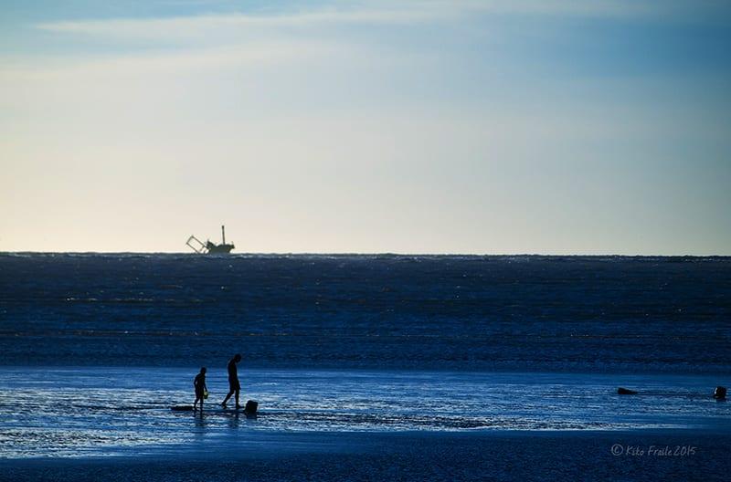 Playa de Sanlucar. Kiko Fraile