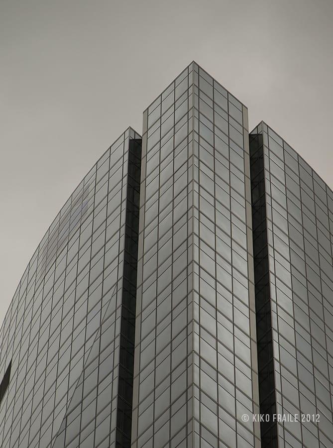 Una de las Cuatro Torres Business Area. Madrid, Spain. © Kiko Fraile