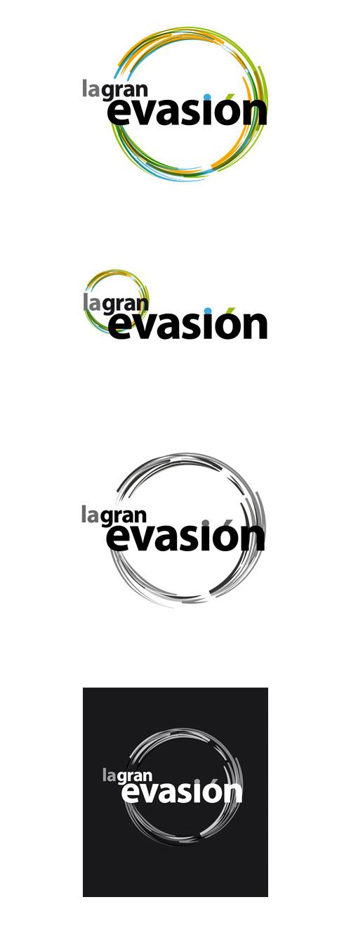 La gran evasion. Versiones logo