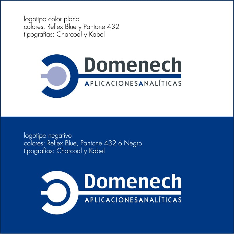 Logotipo Domenech