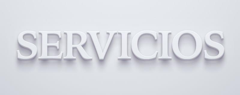 Servicios en 3D