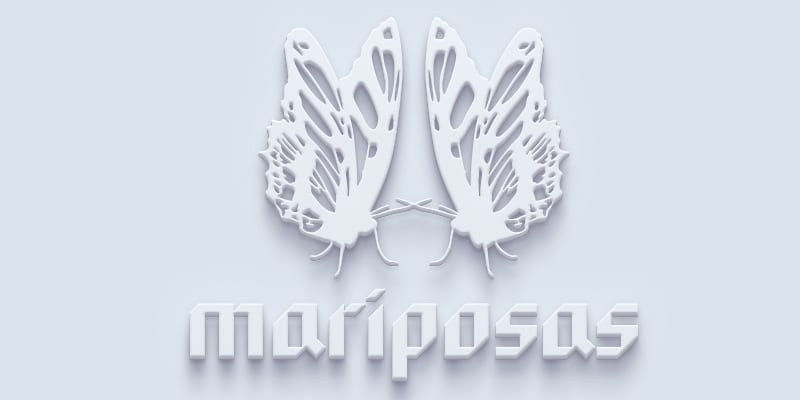mariposas-3d-shadow-down