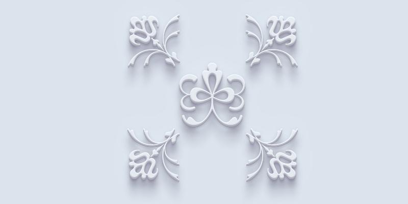 Ornamentación 3D