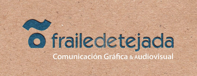 Tarjeta Fraile de Tejada en relieve