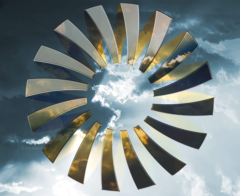 Espiral en el cielo