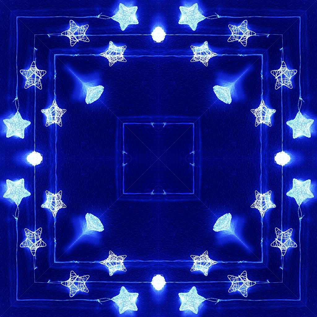 Fotografía calidoscópica. Simetría abstracta