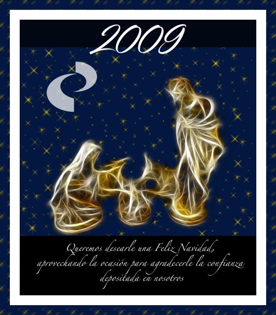 Felicitación navideña 2009
