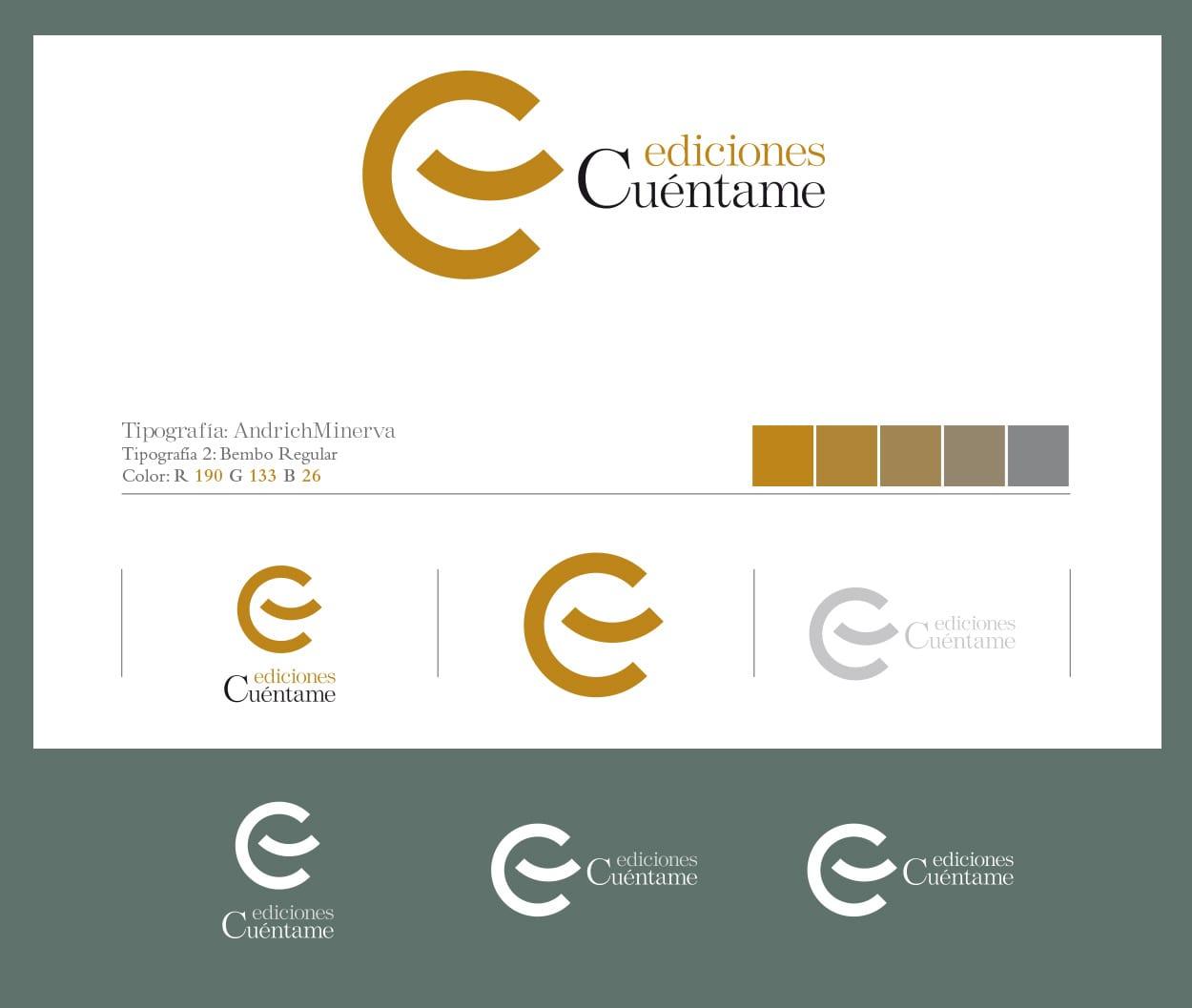 Diseño de la imágen gráfica de la editorial Ediciones Cuéntame.